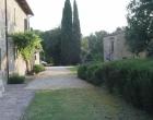 internal garden of Borgo Colderba