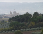 Assisi and green hill